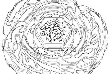 Coloriage beyblade imprimer 1001 - Dessin toupie ...